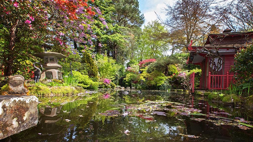 Compton Acres The Japanese Garden