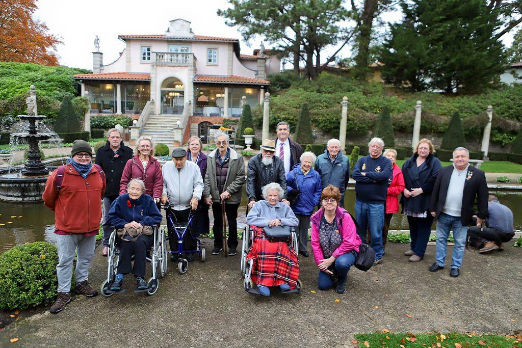 veterans-visit-compton-acres-poole-dorset-armistice-centenary-2